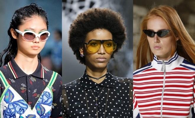 Ochelari de soare la moda primavara-vara 2018
