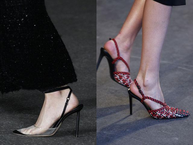 Pantofi slingback primavara vara 2018