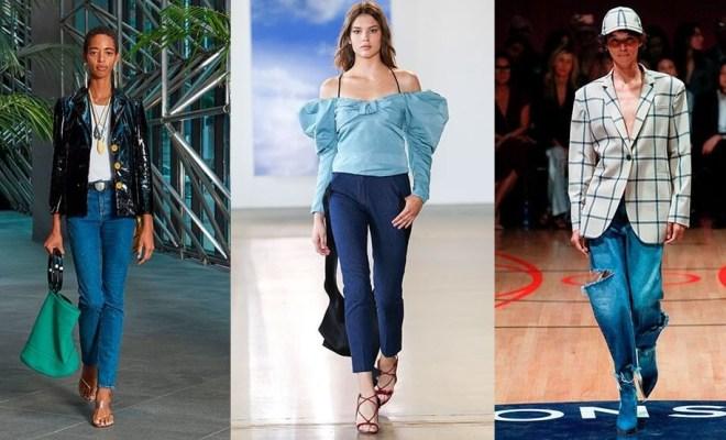 Blugi la moda primavara-vara 2018