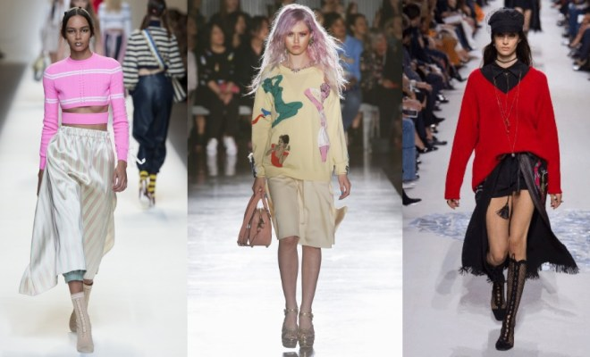 Pulovere la moda primavara-vara 2018