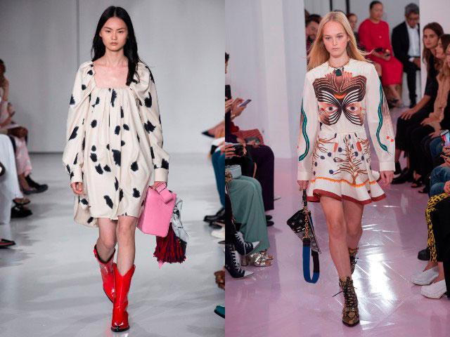 Rochii de zi la moda 2018 maneci lungi