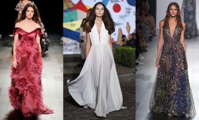 Rochii de seara la moda primavara-vara 2018