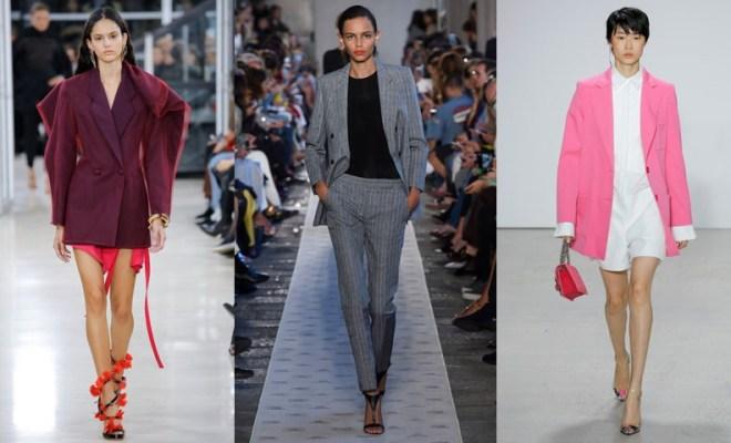 Sacouri dama la moda primavara-vara 2018