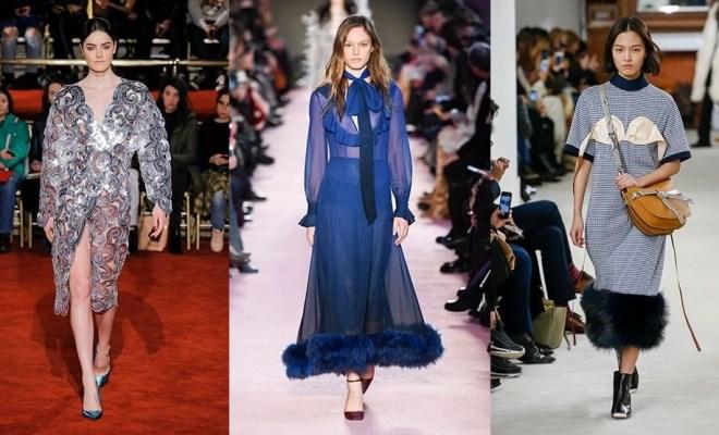 Rochii la moda toamna-iarna 2018-2019