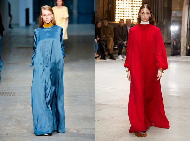 Tendinte moda 2018 rochii largi
