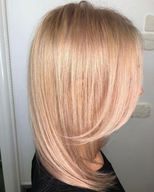 Parul blond tendinte 2019