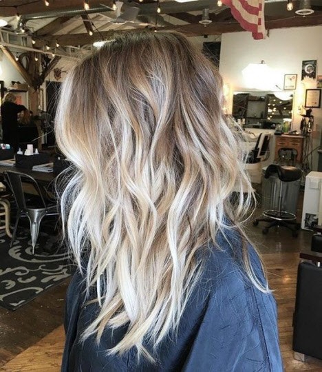 Balayage 2019 blond