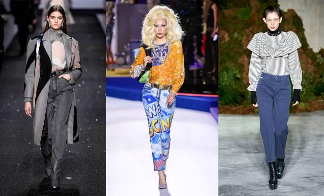 Blugi la moda toamna-iarna 2019-2020