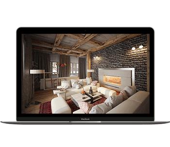 Дизай проект интерьера квартиры в Краснодаре