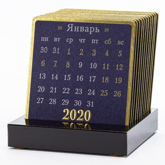 Календарь на лакированной подставке GRAND ROYAL
