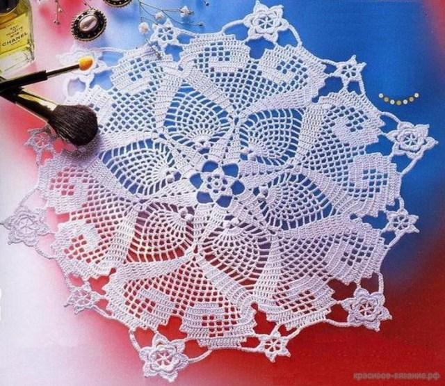 Doily crochet doily