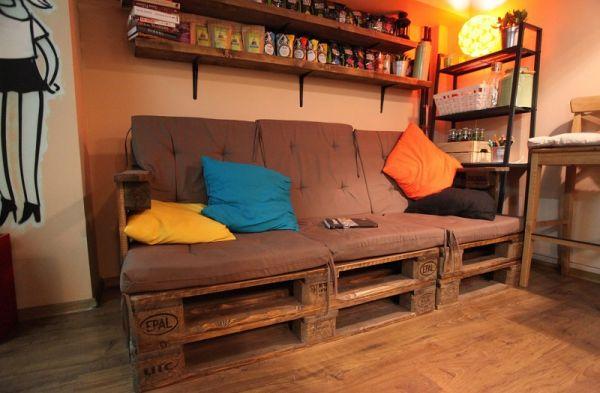 Мебель из паллет, которая приводит в восторг