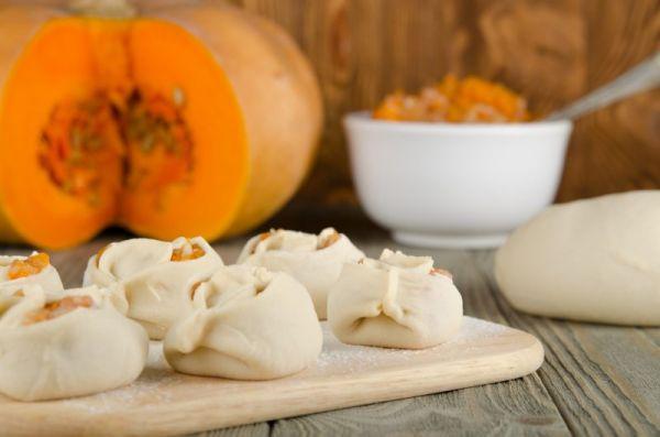 Манты с тыквой — 7 рецептов приготовления в домашних условиях