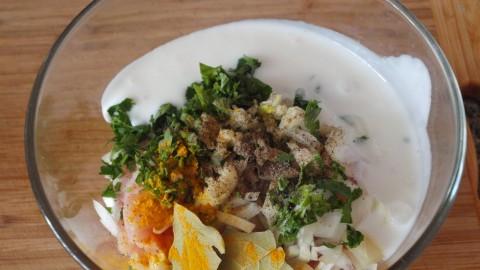 Куриный шашлычок в беконе порадует вкусом и легкостью приготовления