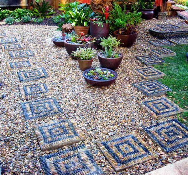 Блог -Как создать газон из камня и щебня вместо травы