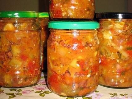 Кабачки с фасолью на зиму: рецепты вкусные с фото и видео 4