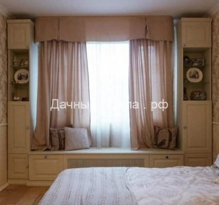 Шкафы вокруг окна: 10 идей для твоего интерьера. Это не просто красиво, а очень функционально. 8