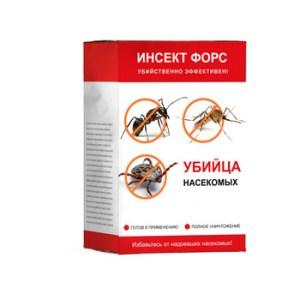 Инсект Форс - средство от всех видов насекомых
