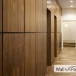 Стеновые панели шпонированные с вставкой из шпонки