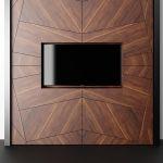 стеновая панель за телевизором