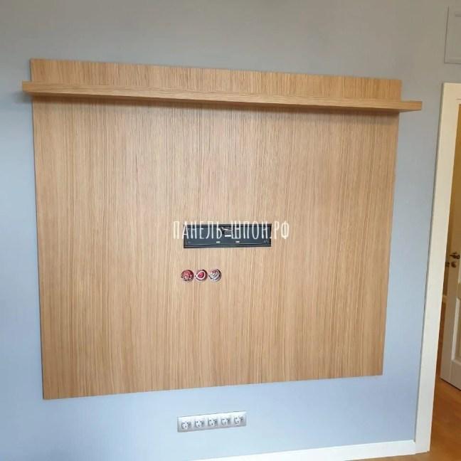 стеновые панели за телевизором
