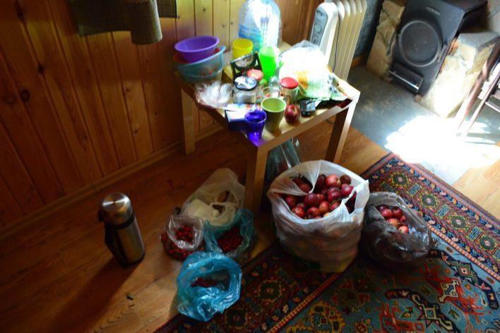 яблоки и шиповник