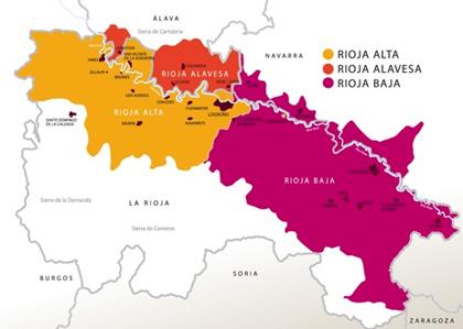 Карта Риоха