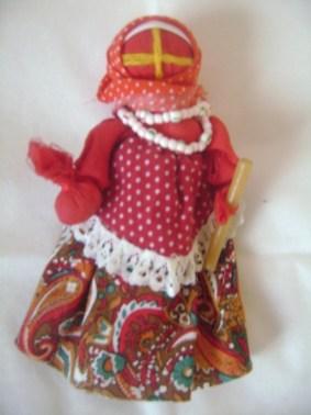 пасхальная кукла со свечей
