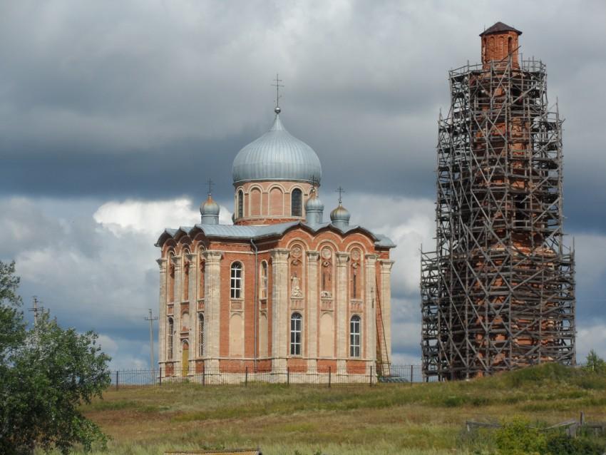 Храм святой великомученицы Екатерины с.Тугустемир