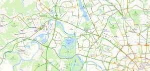 Пробки на Волоколамском шоссе сейчас онлайн