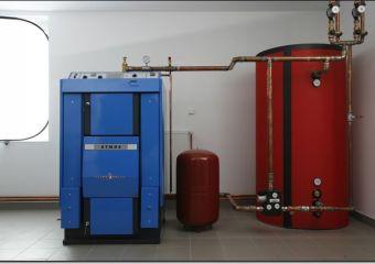 отопление перолизный котел