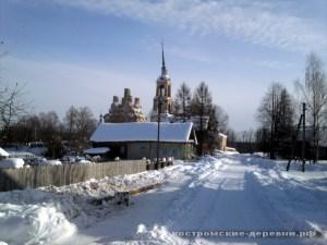 Село Ликурга. Вид на Троицкую церковь.