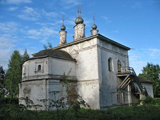 Богоявленская церковь города Галича