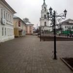 Торговая площадь. Колокольня Казанского собора