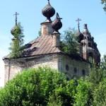 Воскресенская церковь села Глазунова Чухломского района