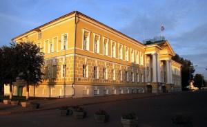 Здание костромских присутственных мест.