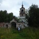 Воскресенская церковь в Васиковке.
