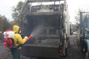 Дезинфекция мусоропровода