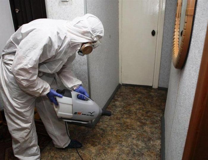 СЭС от тараканов в квартире в Москве вызвать,цены
