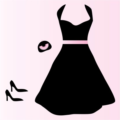 black-dress-clip-art