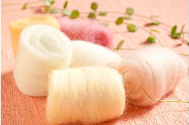 ニードルフェルト羊毛