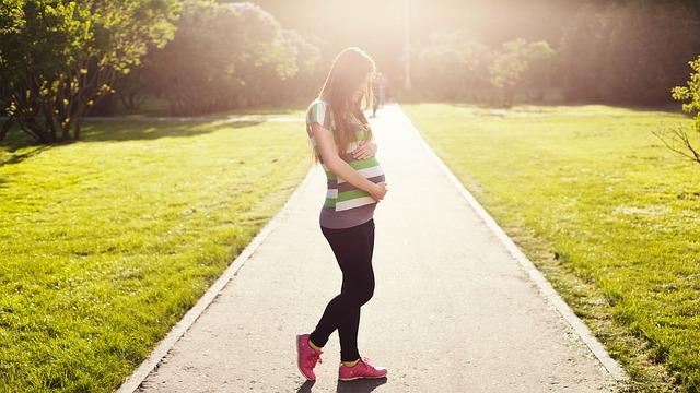 お産を楽にする方法