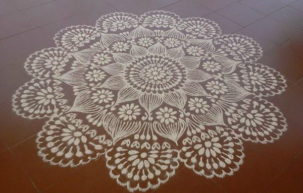 Rangoli Small Easy Designs