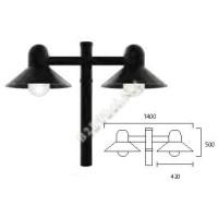 โคมไฟสนามอลูมิเนียม 4เมตร