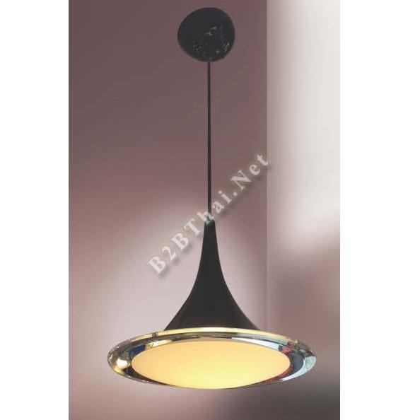 โคมไฟติดเพดาน สีดำ