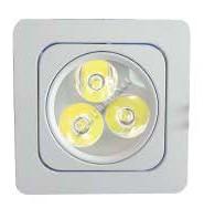 ดาวน์ไลท์สี่เหลี่ยม LED 3W