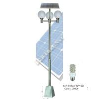 โคมไฟสนามพลังงานแสงอาทิตย์ 15W