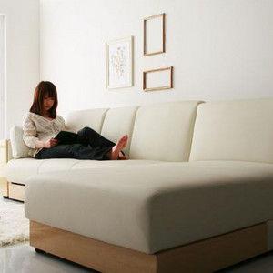 二人暮らしの8畳以上のリビングにカウチソファ、LADIEがおすすめ