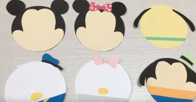 誕生日サプライズに手作りのディズニーメッセージカード