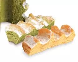 マウントバーム和菓子の芽 抹茶、烤番薯口味年輪蛋糕
